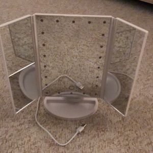 Other - Light up 3D makeup mirror.